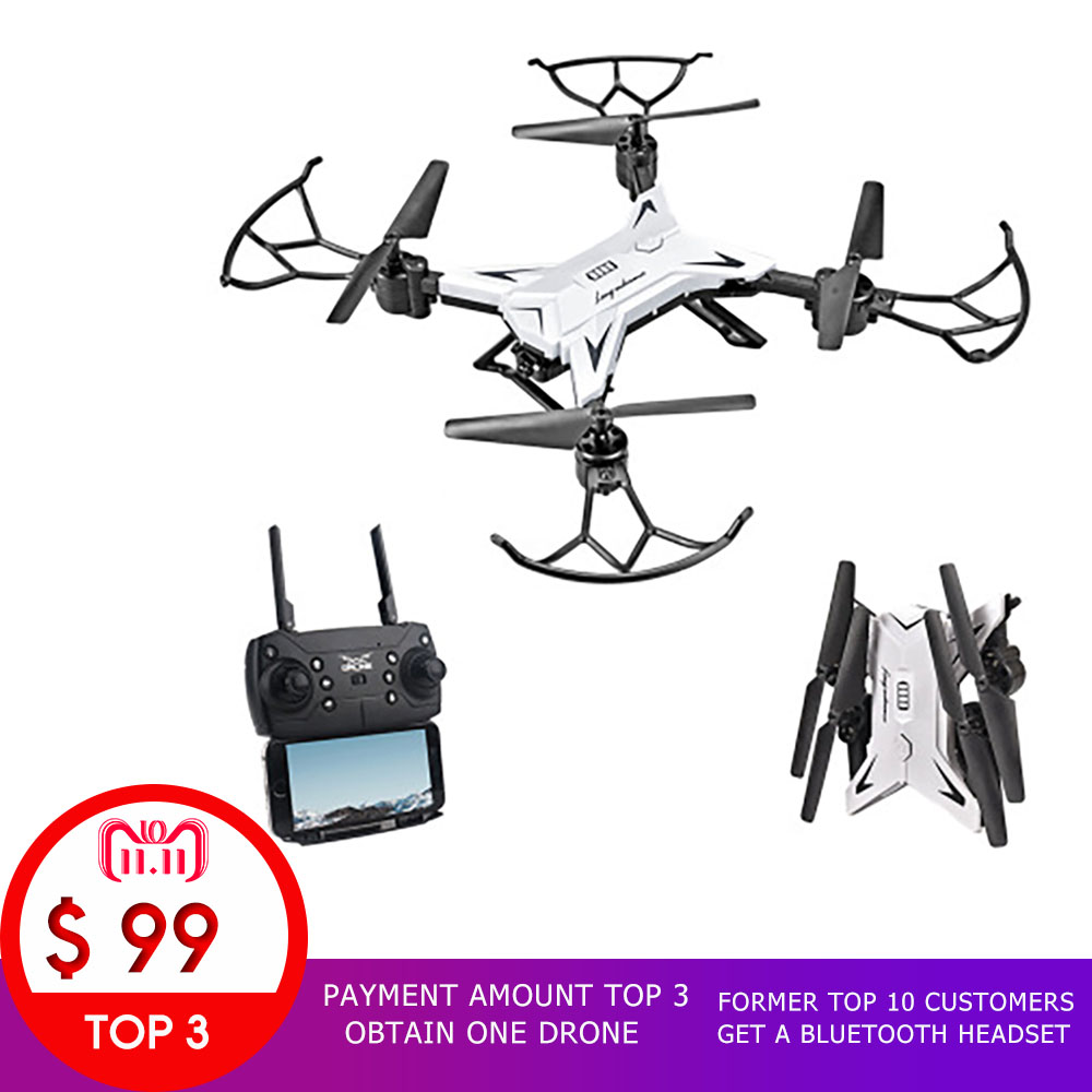 11.11 SALE The Payment Amount TOP 3 Obtain One Drone Former TOP 10 Customers get a Bluetooth Headset Happy New Year