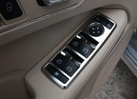 5pcs Chrome Interior Window Button Cover Trim For Mercedes Benz W246 W204 W212 W218 X156 W166 C117 B C E CLS GLA CLA ML Class