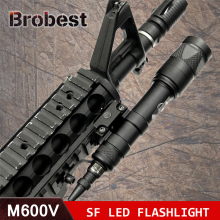 M600V IR Light Scout NV Hunting Night Evolution LED Flashlight Armas Tactical Infrared Weapon For Outdoor Sports