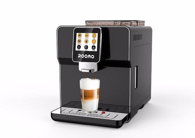 220vOne touch screen multifuction coffee machine.espresso coffee/elegant espresso coffee maker/perfect coffee machine for life-in Coffee Machines ...