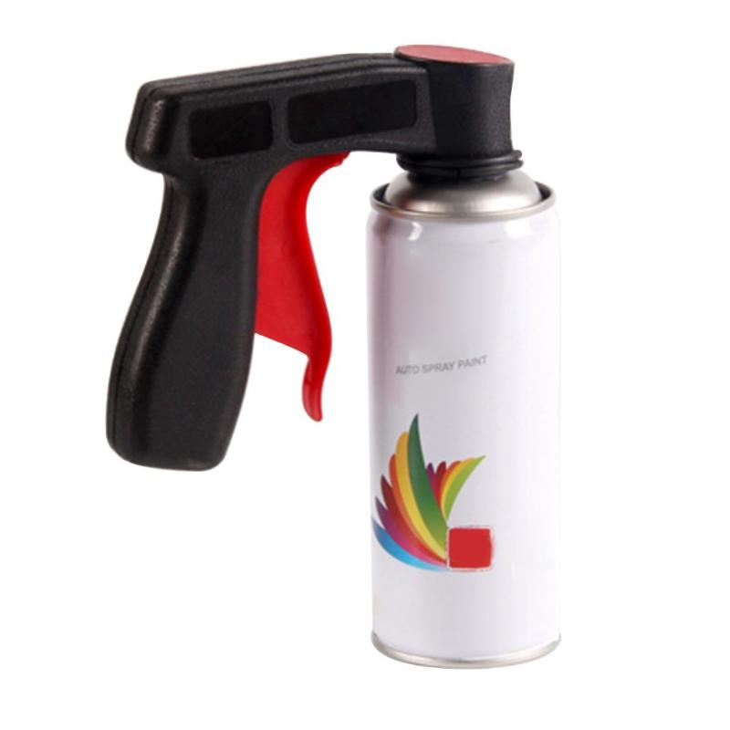 Auto Car Polishing Maintenance Tool Parts Paint Care Aerosol Spray Gun Handle With Full Grip Trigger Colorful Wheel Printing