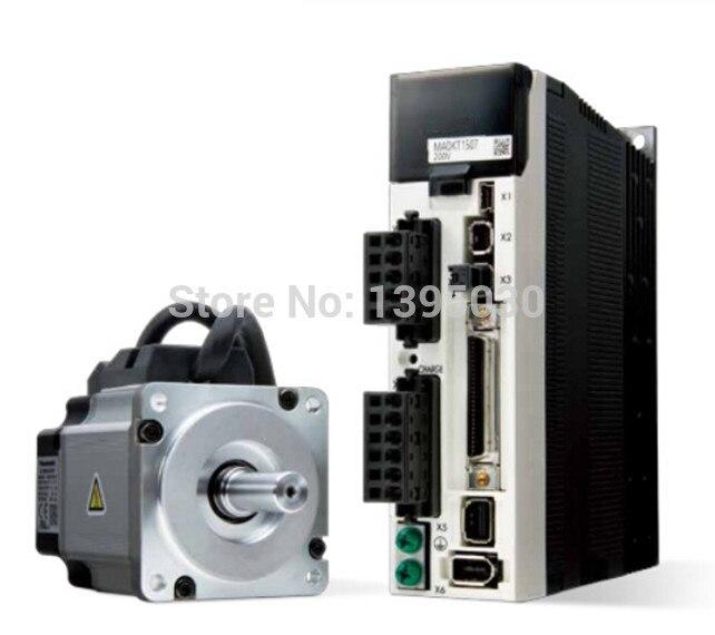 1Set 220V 400W Servo Motors MHMJ042G1U + MBDKT2510CA1 With English Manual