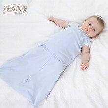 Diapers Swaddle Summer Organic Cotton Infant Parisarc Newborn Thin Baby Wrap Envelope Swaddling Swaddle ME Sleep Bag Sleepsack