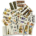 30pcs/lot Nail Art Water Transfer Stickers Beauty Full Wraps Sexy Lady Women Nail Tips Decals DIY tips Decorations SAND300