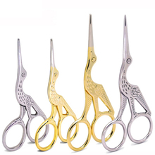 2017 New Stainless Steel Scissors Embroidery Sewing Tools Cross-Stitch Scissors Sewing Accessories Home Scissors Women DIY Tool 14 5cm stainless steel elbow scissors first aid kit accessories gauze adhesive tape scissors outdoor survial tool