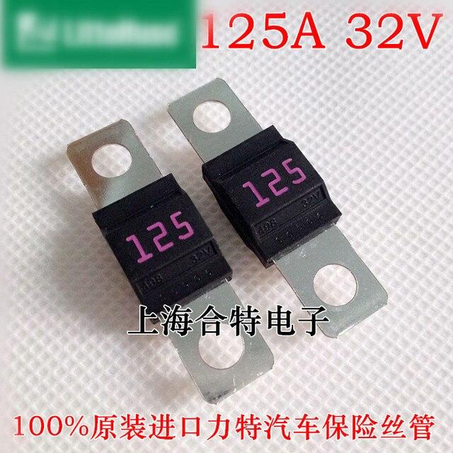 Original neue 100% 0498125.M bolt typ kfz sicherung 0498/498 midi ...