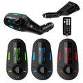 Pantalla LCD Car Audio MP3 Mucsic Reproductor Inalámbrico Transmisor FM Radio Modulador Con USB SD MMC + Control Remoto de Radio Del Automóvil Control