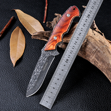 New Style Wood Handle Survival Camping Combat Knives Outdoor Cold Steel Tactical Hunting Knife Cs Go Facas Taticas Navajas TX5
