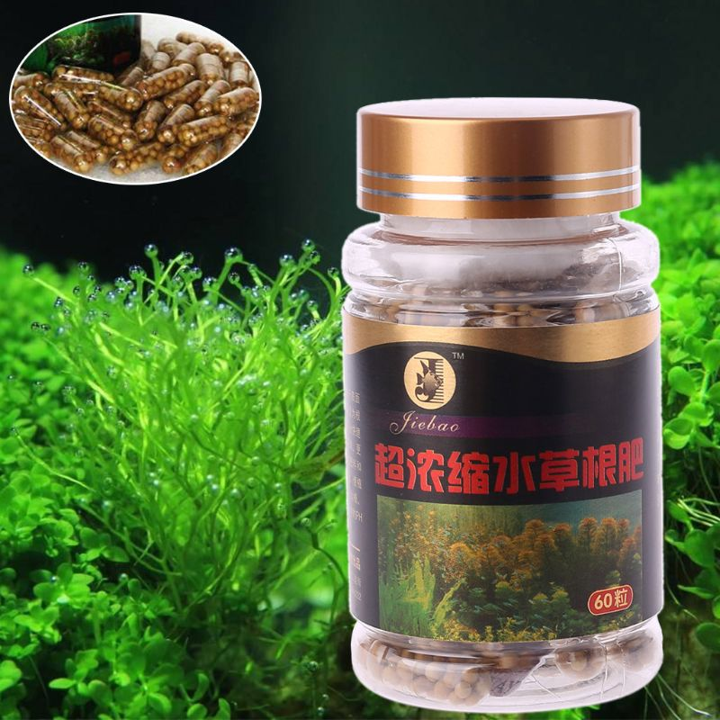60pcs Aquarium Water Plant Root Fertilizer Nutrition Aquatic Fish Tank Aquarium Plant Root Regulator For Waterweeds Water Plants