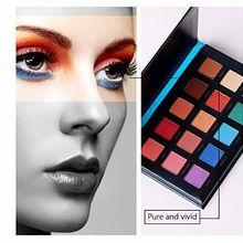купить Beauty glazed Matte eye makeup nudes palette 15 colors matte eyeshadow  palette Glitter Pigment Smoky Eye Shadow Pallete Shimmer дешево