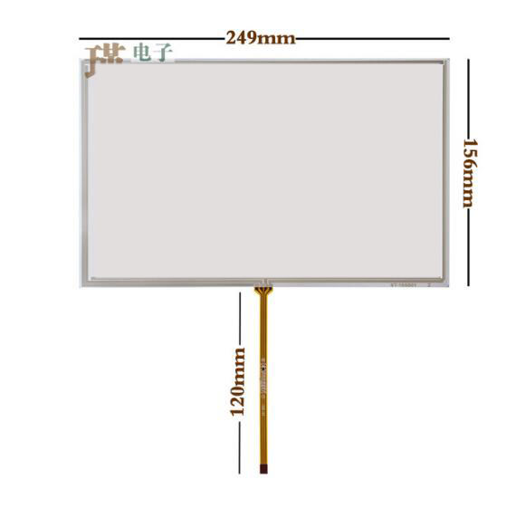 10.6 inch touch screen NTL NL12876AC18-03BD industrial computer handwriting screen 249*156 178 234 computer flat knitting machine accessories tianyuan c type 5 line 10 4 inch handwriting screen touch