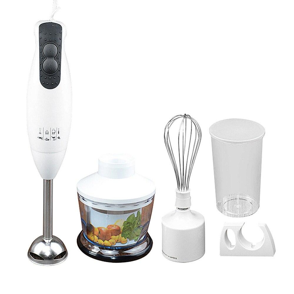 Mélangeur de nourriture électrique portatif presse-agrumes 450 W broyeurs de viande mélangeur à main batteur à oeufs multifonctionnel mélangeur pratique pour cuisine