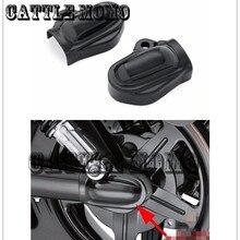 Крышки осей заднего колеса мотоцикла колпачок боковой протектор для 2002- Harley ночной стержень специальный VRSCDX VRSCF VRSCAW