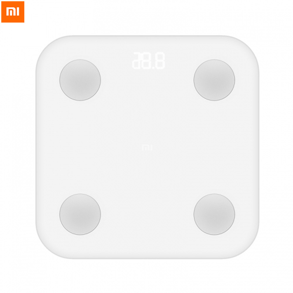 Original Xiaomi Mi Smart Scale Body Fat Scale LED Display Mifit APP Body Composition Monitor For Wight Test Android IOS Phone original xiaomi led phone light for photograph external selfie