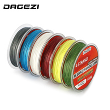 DAGEZI With Gift 4 stands 100m 10-80LB brand fishing lines  Super Strong Japanese  Multifilament 100% PE Braided Fishing Line