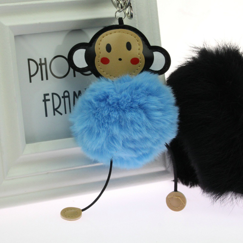 Clever monkey lovely key Mobile phone chain 5