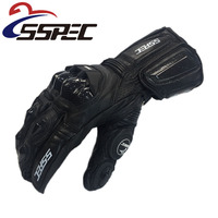 Motorcycle Gloves GP PRO Real Genuine Leather Glove Carbon Fibre Men Racing Motorbike Motocicleta Guantes Moto