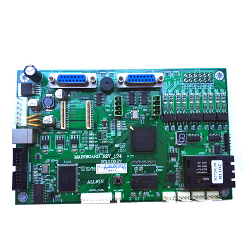 Allwin mother board Mainboard For E-160 / E-180 Eco-solvent Printer high quality eco solvent printer spare parts allwin human head connector board for sale