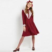 Sisjuly Vintage 1960s A Line Elegant Dresses Autumn Patchwork Female Party Dress Women S Knee Length