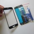 Azul escuro s5 mini exterior de vidro para samsung galaxy s5 mini SM-G800 Frente LCD Lente Touch Screen Substituição & Adesivo & Ferramentas