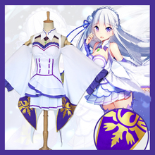 Re:Life in a Different World from Zero Emilia Cosplay Costume for Women