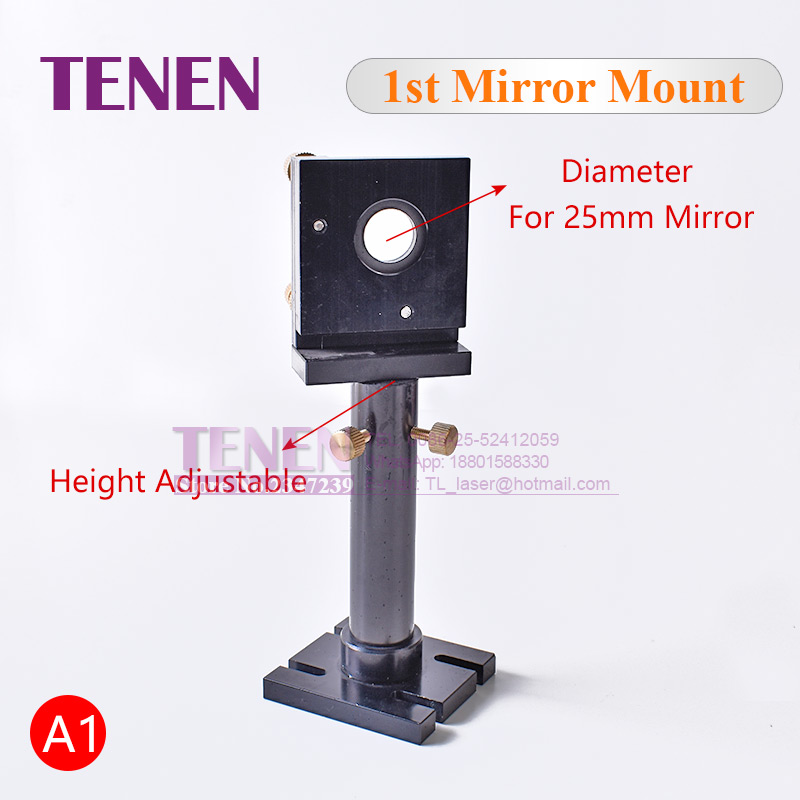 Image 2 - CO2 Laser Head Set / Reflective Mirror & Focusing Lens Integrative Fixture Mount Holder For Laser Engraver Cutting Machine Parts-in Woodworking Machinery Parts from Tools