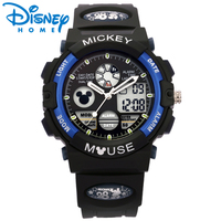 Disney Digital Children Watches for Boys Waterproof Kids Watches Sport Wristwatches Date Display Mickey Mouse Boys Watch Hodinky