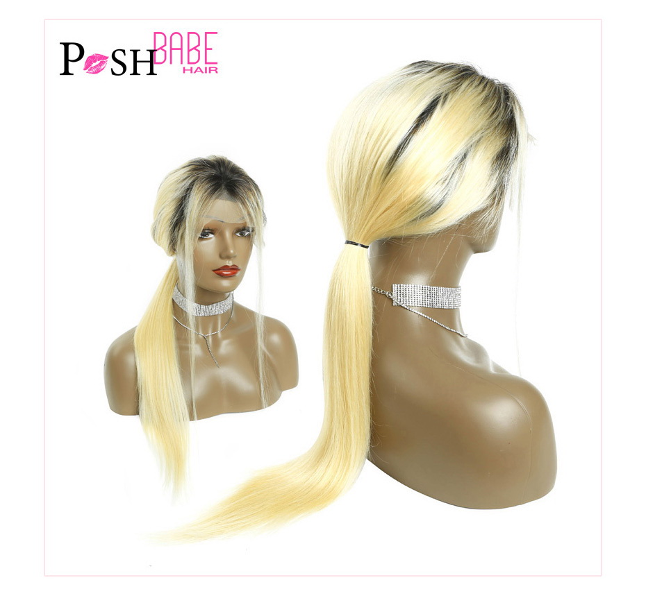 Blonde Lace Front Human Hair Wig (3)