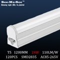 t5 led tube 24W,1200mm,1.2m,120cm,AC85-265V,SMD2835,120LED chips/pcs, 20PCS/Lot, warranty 2 years,SMTB-15-12B