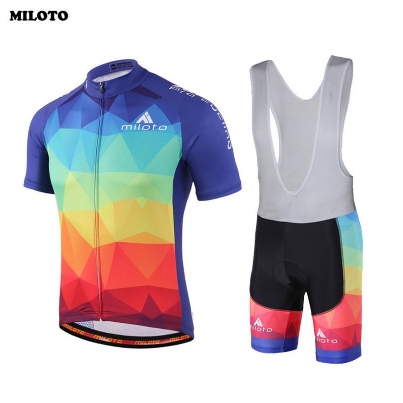 Cycling Jersey Bib Shorts Set Ropa Ciclismo Outdoor Bicycle Clothing Short Sleeve Bike Wear Sets Sportswear Clothing S-4XL