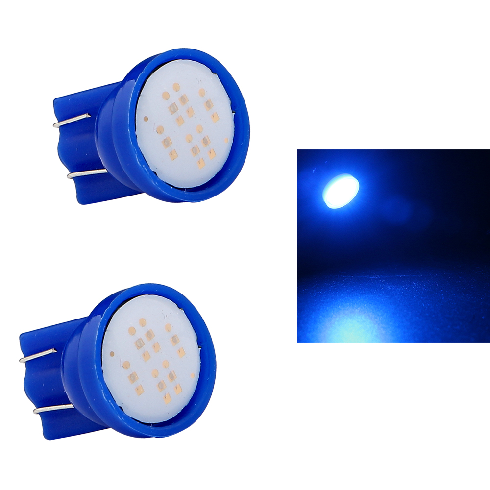 50 200 1000 Pcs 24V T10 COB 2W 194 W5W 6 Led 168 White High Power LED Car Door Headlight Indicator Reading Driving Light BulbS in Signal Lamp from Automobiles Motorcycles