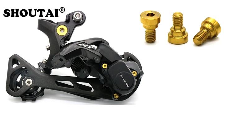 M8000XT Titanium alloy rear dial fixed shaft ransmission repair FOR MTB Bike