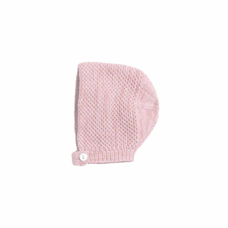 Thời trang Bán Bé Gái Mùa Hè Quần Áo Tay Trẻ Sơ Sinh Rắn Knit Bodysuit Cotton O-Cổ Bodysuit Mềm M-3Y (với Một Mũ)