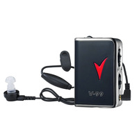 V 99 Digital Hearing Aid Voice Sound Amplifier Adjustable Volume For Hearing Loss The Elderly