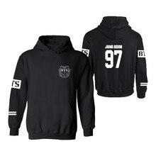 New! Good Quality BTS Hoodies Kpop BTS Bangtan Boys JUNG KOOK Sweatshirt Mens Pullover