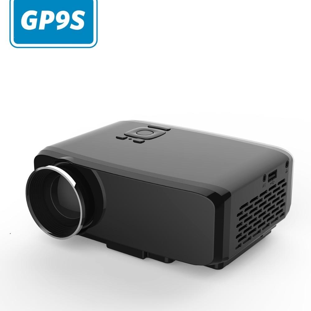 GP9S 1080P Projetor Full HD Digital Vedio HDMI Projeksiyon Home Theater Projecteur Projektor Mini 4K Projector TV LED Proyector