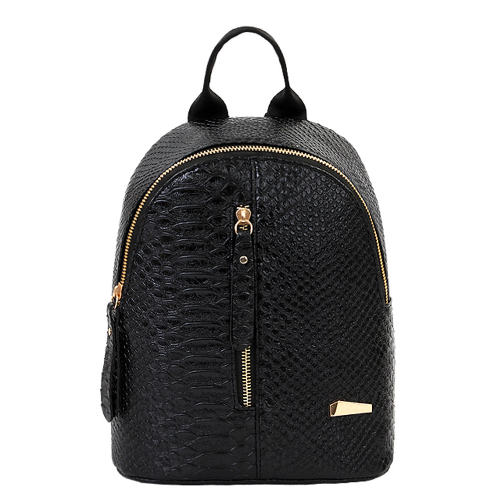 Women 2019 Backpack Leather Lattice Backpacks Solid Zipper Schoolbags Travel Shoulder Bag Drop Shipping#ZSWomen 2019 Backpack Leather Lattice Backpacks Solid Zipper Schoolbags Travel Shoulder Bag Drop Shipping#ZS