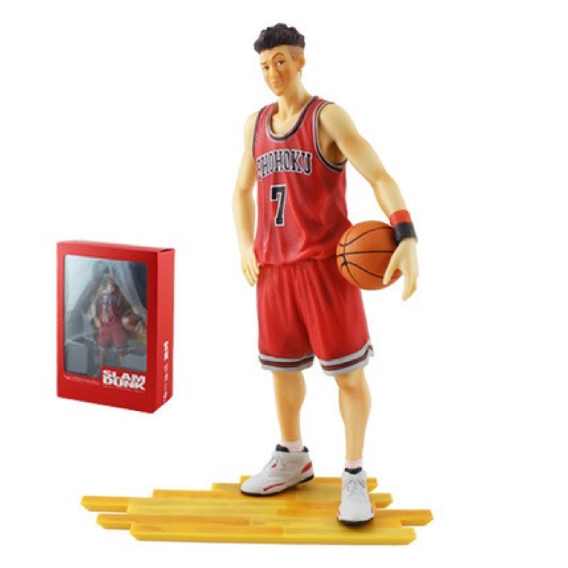 Slam Dunk Shohoku 7 Ryota Miyagi Action Figure Japan Anime Collectible Model Kid Toys In Box huong anime slam dunk 24cm number 11 rukawa kaede pvc action figure collectible toy model brinquedos christmas gift