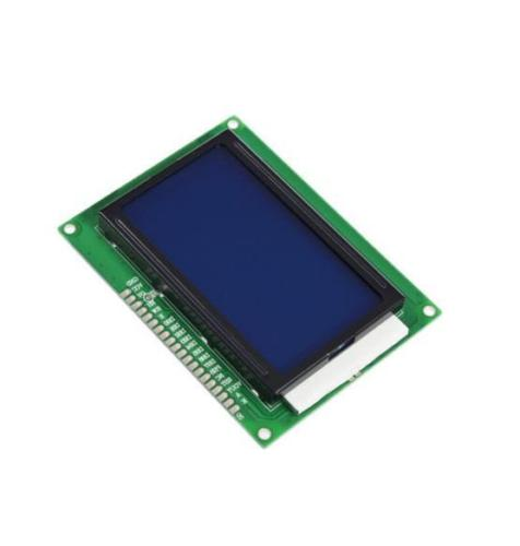 5V 12864 LCD Display Module 128x64 Dots Graphic Matrix LCD Blue Backlight NEW 0802 lcd display module