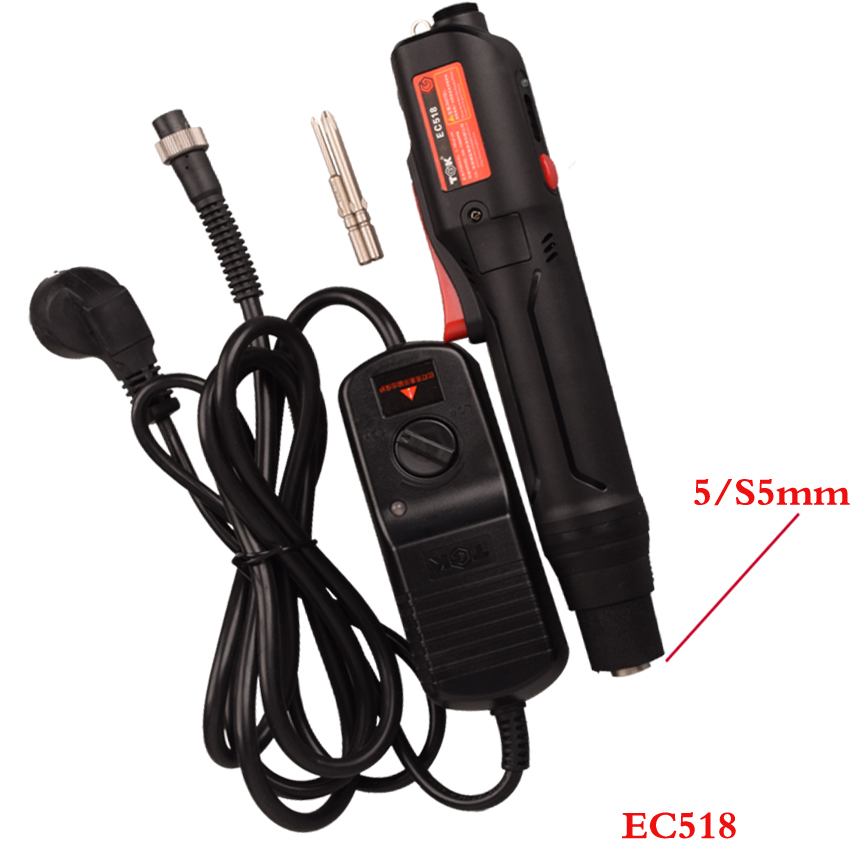 1pcs/lot SEMI-AUTO Electrical Screwdriver With Power Supply Fit 5/S5mm Bit Electrical Mini Hand Tools Screw Driver EC518
