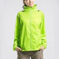 Ultra Thin Lightweight Outdoor Sports Windproof Windbreaker Jacket UV Protect Skin Coat Waterproof For Female Male