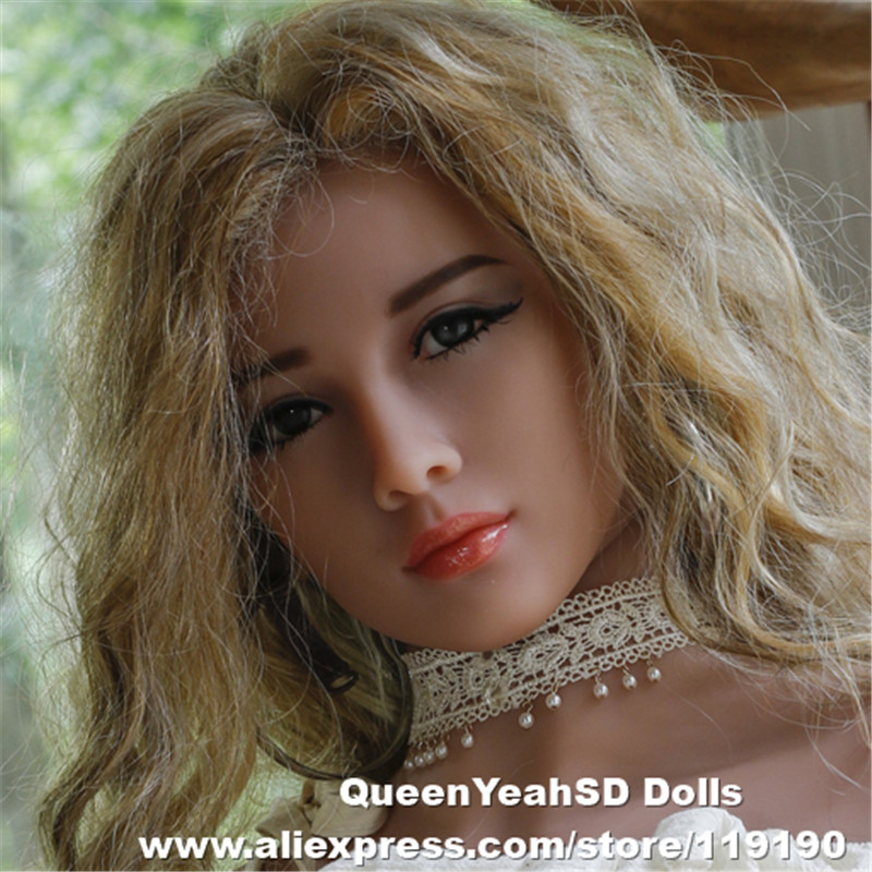 NEW Sex Dolls Head For Japanese Silicone Adult Doll Lifelike Sex Toys Oral Lifelike Love Dolls Heads Sexy Products