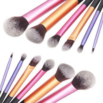 6pcs Pro Makeup Brushes Set Cosmetic Eyeshadow Powder Foundation Blush Lip Brush Tool dropshipping 1