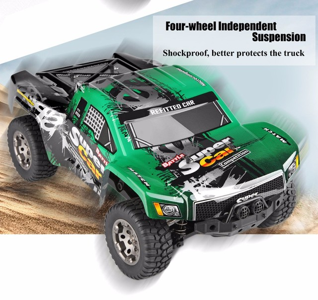 Wltoys 12403 Rc Electric Short Truck Supper Car 1 12 4wd Radio Remote Control High Sd Off Road Monster Climbing Vehicle