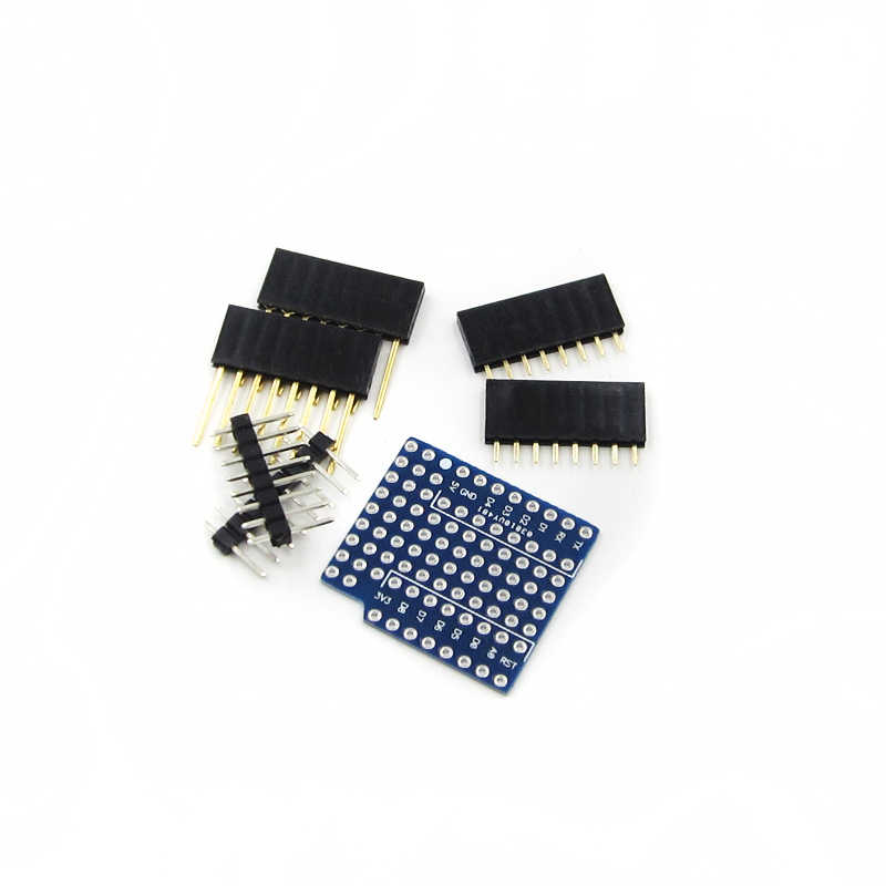 For WeMos Breadboard Expansion Shield Pin Lithium battery  D1 Mini Module For Arduino Compatible