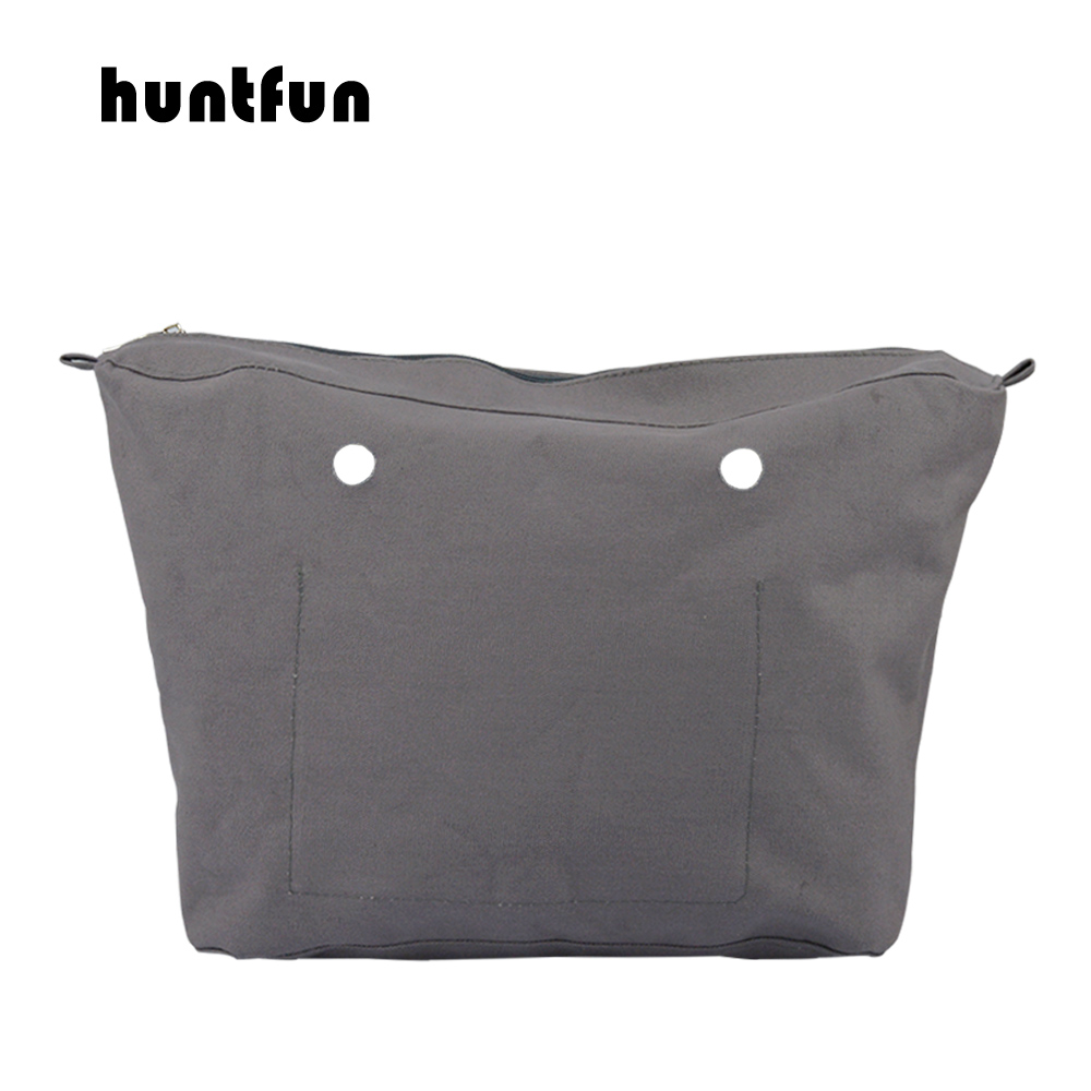 2019 Huntfun New Waterproof Inner Lining Insert Zipper Pocket For Obag Urban Body For O Bag Urban Body Women's Handbag