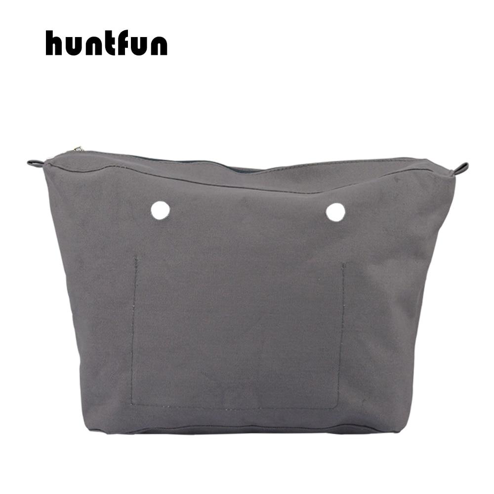 2019 Huntfun New Waterproof Inner Lining Insert Zipper Pocket For Obag Urban Body For O Bag Urban Body Women's Handbag