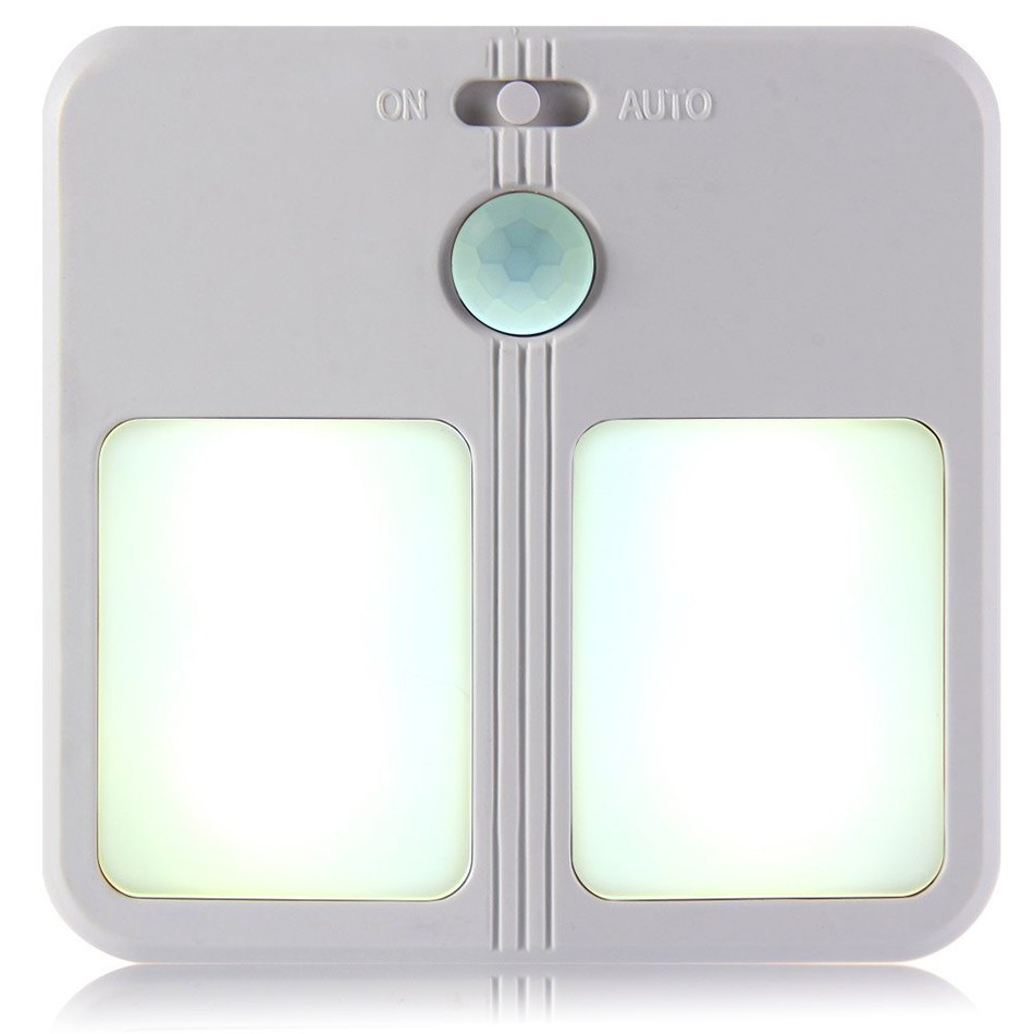 Automatic led energy saving night lamp - High Quality Led Human Body Induction Night Lamp Energy Saving Automatically Motion Sensor Night Light Can Hang Up On The Wall