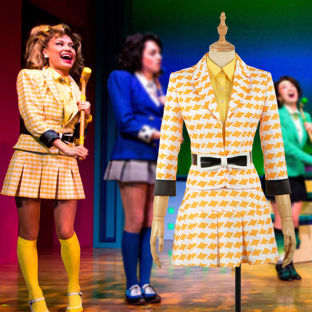 In Stock XS XL Heathers The Musical Rock Musical McNamara Stage Dress Skirt Concert Cosplay Costume