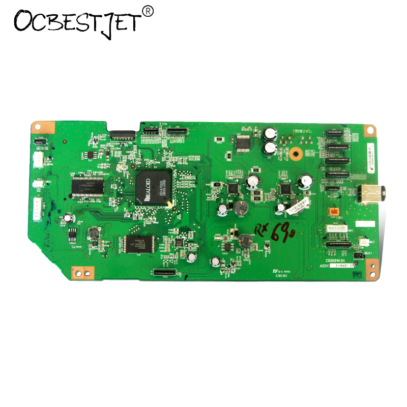 ФОТО Original C686MAIN Mainboard Main Board For Epson RX690 Printer Formatter Board